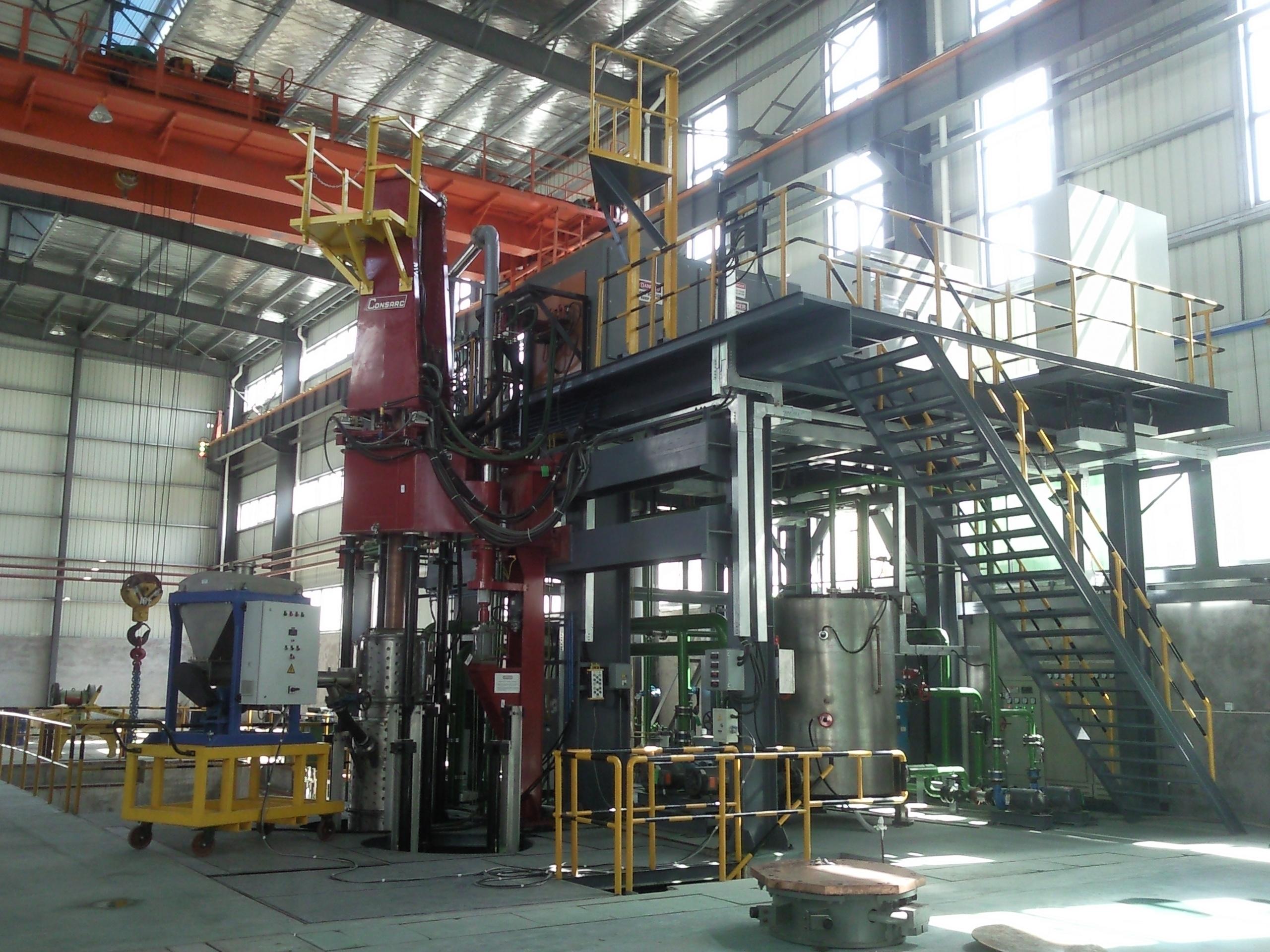 Consarc ElectroSlag Remelting Furnaces
